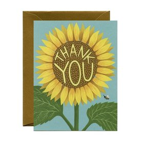 Yeppie Paper Yeppie Paper Card - Sunflower Thank You