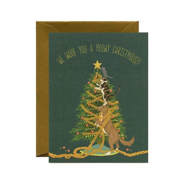 Yeppie Paper Yeppie Paper Meowy Christmouse Card