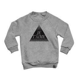 Whistle & Flute Whistle & Flute Adult Je T'aime Sweatshirt