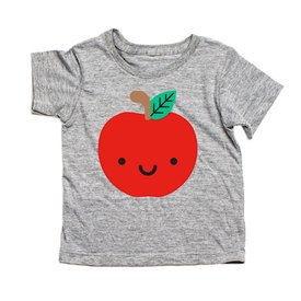 Whistle & Flute Whistle & Flute Kawaii Apple T-Shirt