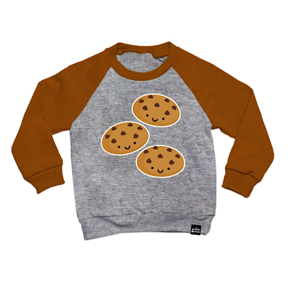Whistle & Flute Whistle & Flute Kawaii Cookies Sweatshirt