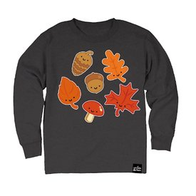 Whistle & Flute Whistle & Flute Kawaii Leaves Longsleeve T-Shirt