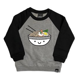 Whistle & Flute Whistle & Flute Kawaii Ramen Two-Tone Raglan Sweatshirt