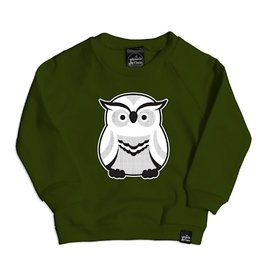 Whistle & Flute Whistle & Flute Modern Owl Sweatshirt