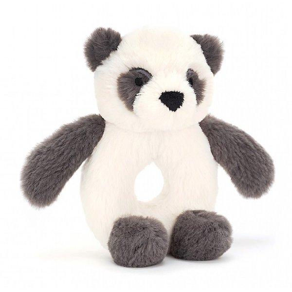 "Jellycat Jellycat Ring Rattle - Harry Panda 6"""