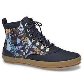 KEDS KEDS Adult + Rifle Paper Co. - Scout Boot - Garden Party/Navy