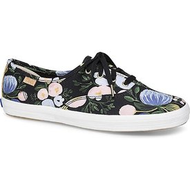 KEDS KEDS Adult + Rifle Paper Co. - Champion / Botanical - Black Multi