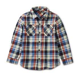 Tea Collection Tea Collection Flannel Plaid Shirt - Trekking Plaid