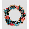 Stay Home Club Iron-On Patch - Wreath