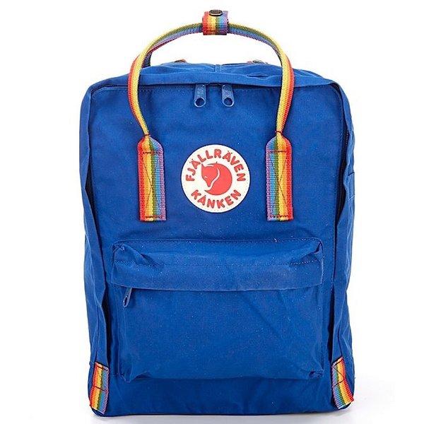 Fjallraven Arctic Fox LLC Fjallraven Kanken Classic Backpack - Deep Blue Rainbow