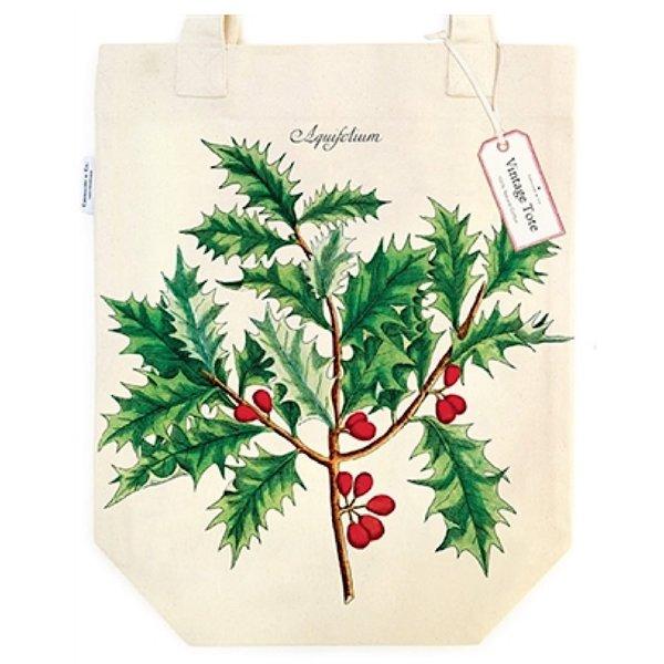 Cavallini Papers & Co., Inc. Cavallini Holly Tote Bag