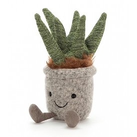 Jellycat Jellycat Silly Succulent Aloe - 9 Inches
