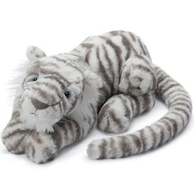Jellycat Jellycat Sacha Snow Tiger - Medium 11 Inches