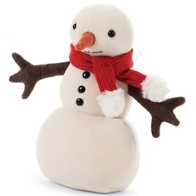 Jellycat Jellycat Merry Snowman - Red Scarf