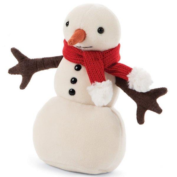 Jellycat Jellycat Merry Snowman - Red Scarf