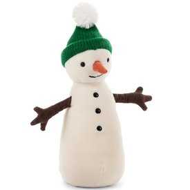 Jellycat Jellycat Jolly Snowman - Green Hat