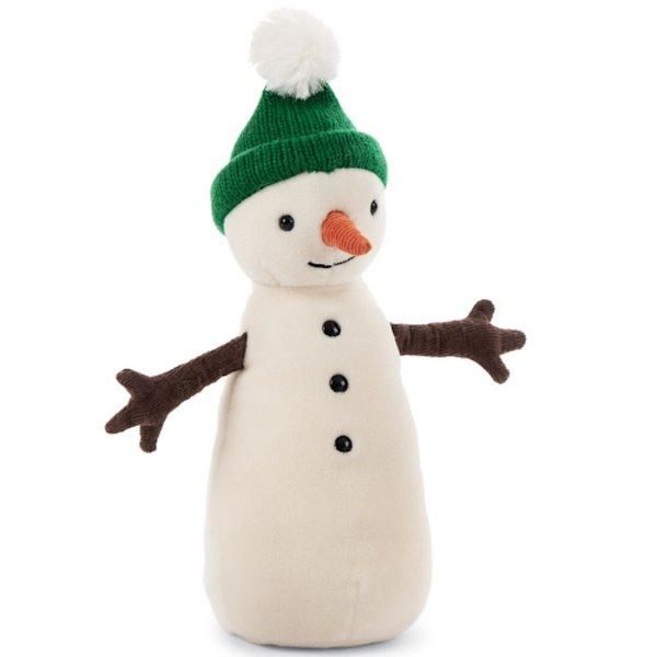 Jellycat Jellycat Jolly Snowman - Green Hat