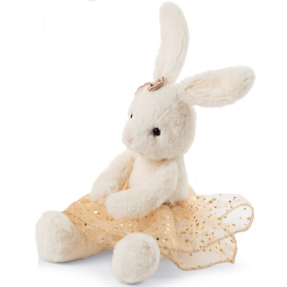 Jellycat Glistening Belle Bunny Small 9