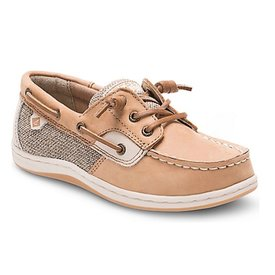 Sperry Sperry Little Kid Songfish Jr Boat Shoe - Linen Oat