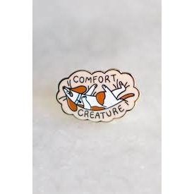 Stay Home Club Stay Home Club Lapel Pin - Comfort Creature