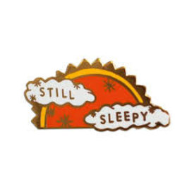 Stay Home Club Stay Home Club Lapel Pin - Still Sleepy