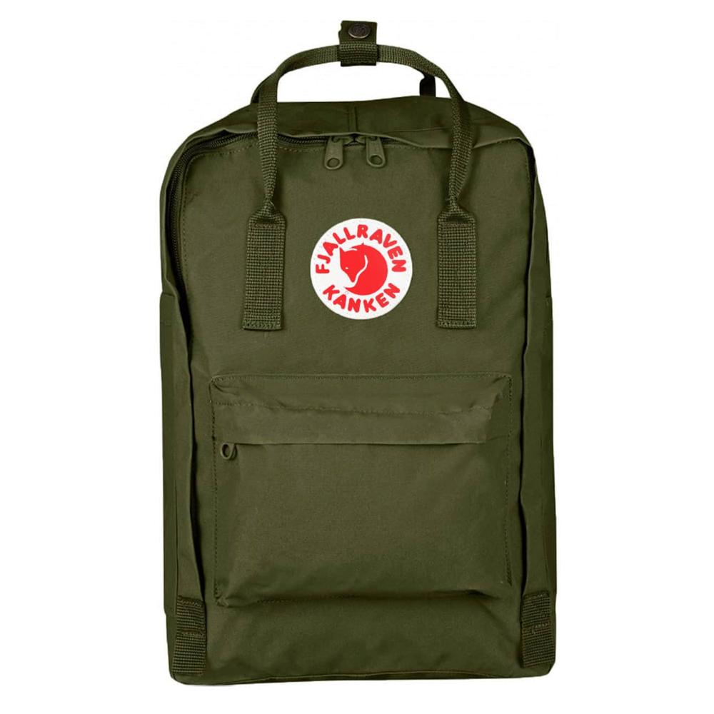 "Fjallraven Arctic Fox LLC Fjallraven Kanken 15"" Laptop Backpack - Green"
