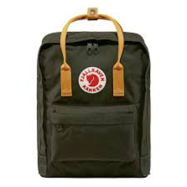 Fjallraven Arctic Fox LLC Fjallraven Kanken Classic Backpack - Deep Forest-Acorn