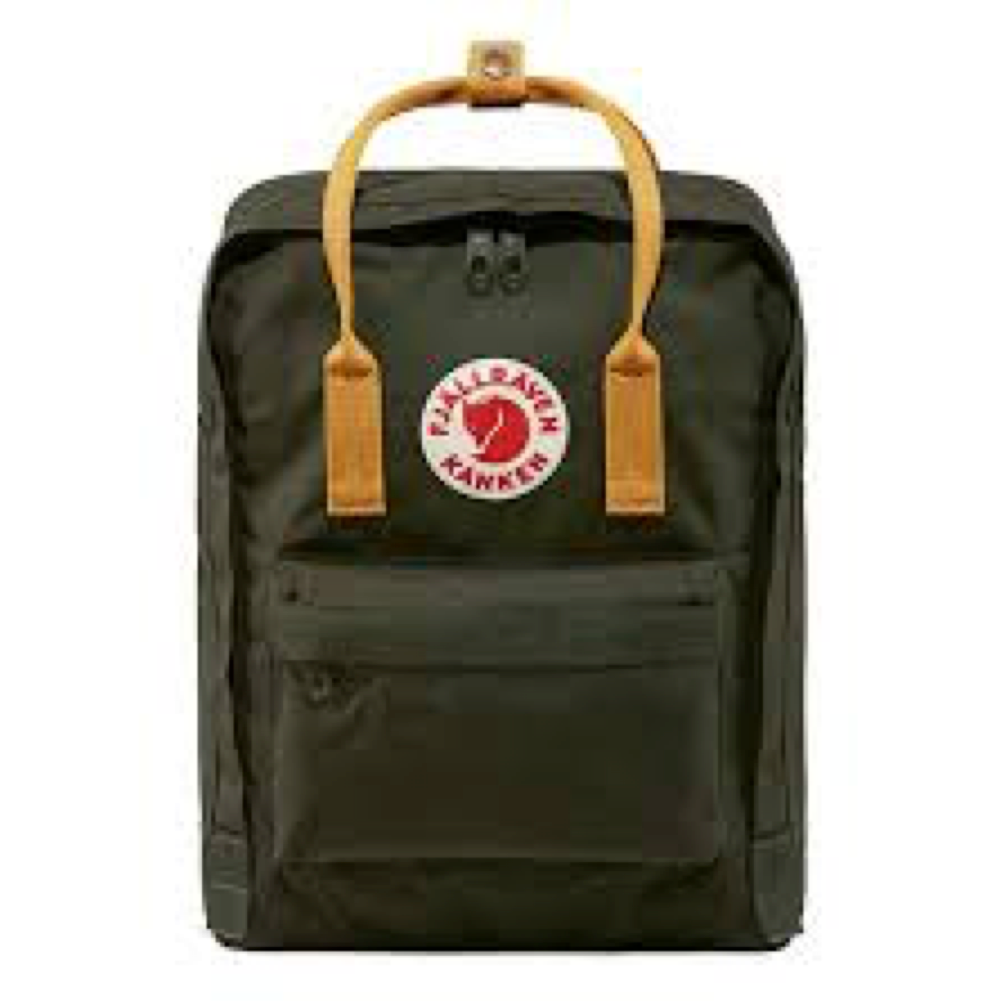 Fjallraven Kanken Classic Backpack - Deep Forest-Acorn