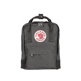 Fjallraven Arctic Fox LLC Fjallraven Kanken Mini Backpack - Super Grey