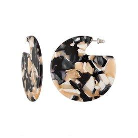 Machete Machete - Clare Earrings - Abalone