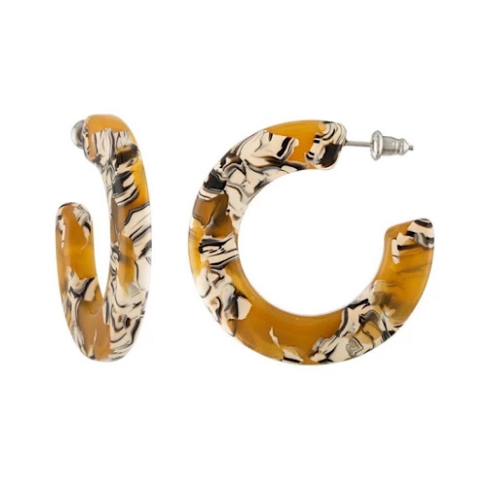 Machete Machete - Kate Hoop Earrings - Calico