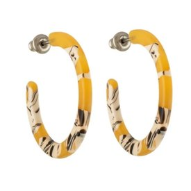 Machete Machete - Mini Hoop Earrings - Calico