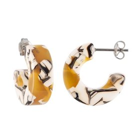 Machete Machete - Muse Hoop Earrings - Calico