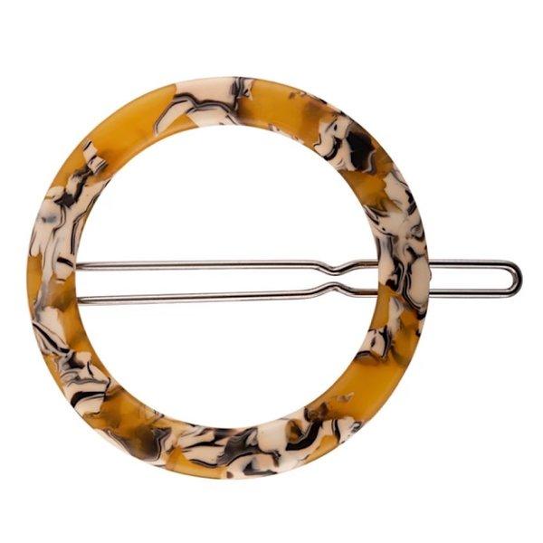 Machete Machete - Small Circle Hair Clip - Calico