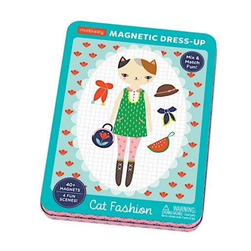 Cat Fashion Magnetic Dress-Up