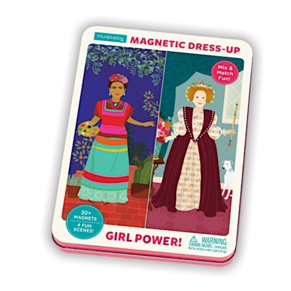 Mudpuppy Girl Power Magnetic Dress Up