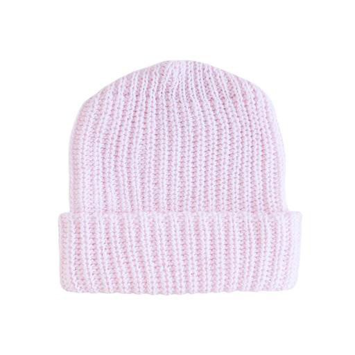 Columbiaknit Solid Cotton Knit Hat - Light Pink