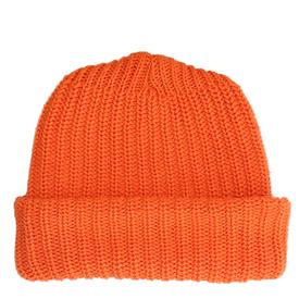 Columbia Knit Solid Cotton Knit Hat - Orange