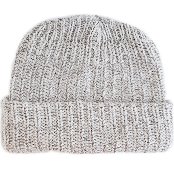 Columbiaknit Marled Cotton Knit Hat - Coffee