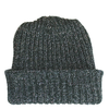 Marled Cotton Knit Hat - Frosted Green