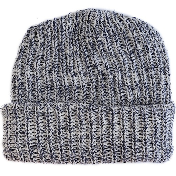 Columbiaknit Marled Cotton Knit Hat - Navy Heather