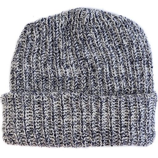 Columbiaknit Marled Cotton Knit Hat - Navy Heather