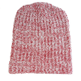 Columbiaknit Marled Cotton Knit Hat - Red Heather