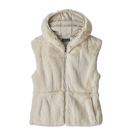 Patagonia Patagonia Women's Lunar Frost Hooded Vest - Natural