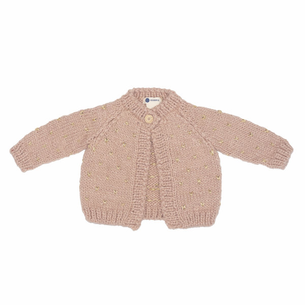 The Blueberry Hill The Blueberry Hill Fair Isle Sweater - Pink & Gold