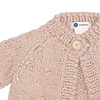The Blueberry Hill Fair Isle Sweater - Pink & Gold
