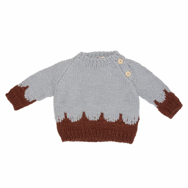 The Blueberry Hill The Blueberry Hill Scallop Sweater