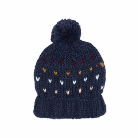 The Blueberry Hill The Blueberry Hill Adult Sawyer Knit Hat - Navy - L