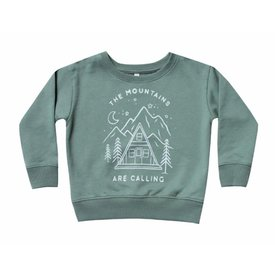 Rylee and Cru Rylee + Cru Mountains Are Calling Sweatshirt - Spruce