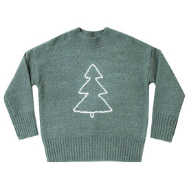 Rylee and Cru Rylee + Cru Adult Tree Cassidy Sweater - Spruce